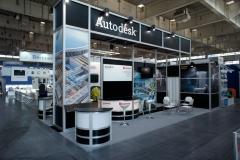 Stoisko indywidualne 3 – AUTODESK, INSTALACJE 2012